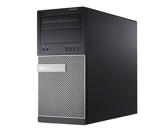 Bild 1 - Dell Optiplex 790 MT, Core i3 2120 3,3GHz, 4GB RAM, 2x 2TB HDD, DVD-RW