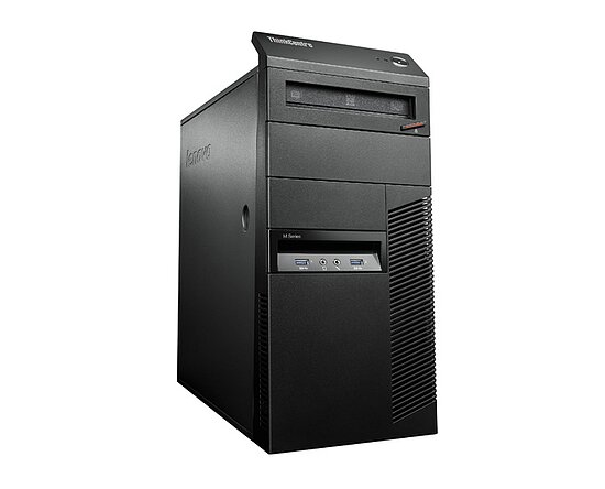 Bild 1 - Lenovo ThinkCentre M93p 10A6, Core i5 4570 3,2GHz, 32GB RAM, 500GB HDD, DVD-RW