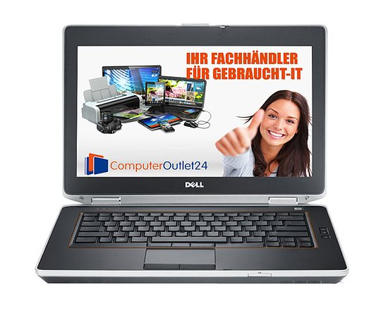 Bild 1 - Dell Latitude E6420, Core i5 2520M 2,5GHz, 4GB RAM, 250GB HDD, DVD-RW