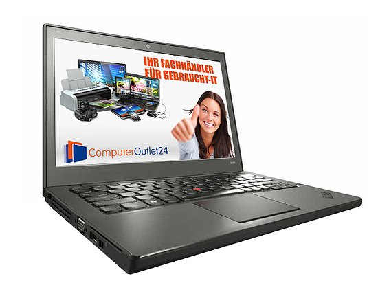 Bild 1 - Lenovo Thinkpad X240, Core i5 4300U 1,9GHz, 8GB RAM, 180GB SSD