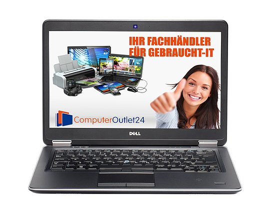 Bild 1 - Dell Latitude E7440, Core i5 4310U 2GHz, 16GB RAM, 256GBSSD
