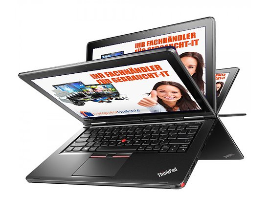 Bild 1 - Lenovo ThinkPad S1 Yoga 12, Core i5 5300U 2,3GHz, 8GB RAM, 240GB SSD, Multitouch