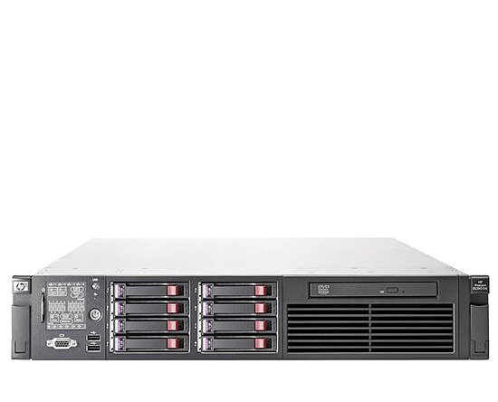 Bild 1 - HP ProLiant DL380 G7, 2x XQC L5630, 32GB, DVD, 4x 146GB SAS, P410i