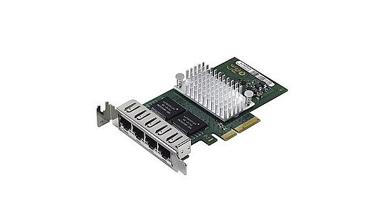 Bild 1 - Fujitsu D2745-A11 4Port QuadPort Server Adapter PCI-E (Low Profile)