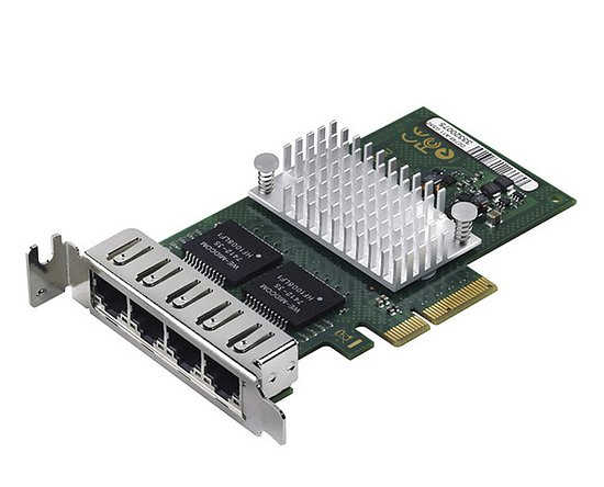 Bild 1 - Fujitsu QuadPort Gigabit Server Adapter PCIe Low Profile D3045-A11