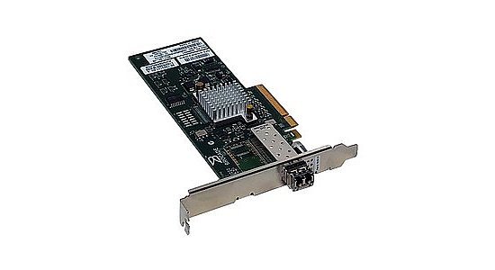 Bild 1 - IBM/Brocade 815 SinglePort FC Controller 8Gb PCIe 46M6061 incl. Gbic (Full Profile)