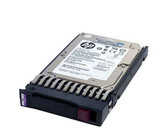 Bild 1 - HP HDD 146GB 10k 3G SinglePort 2,5'' SAS HDD incl. Tray P/N: 438628-002, GPN: 375863-011