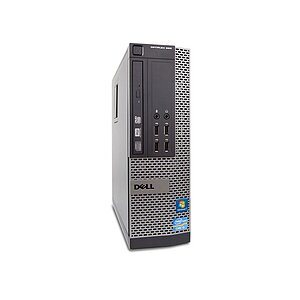 Dell OptiPlex 990SFF, Core i7 2600 3,4GHz, 8GB RAM, 250GB HDD, DVD-RW