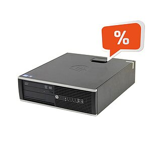HP Compaq Elite 8300 SFF, Core i5 3470 3,2GHz, 2GB RAM, 250GB HDD, DVD-RW