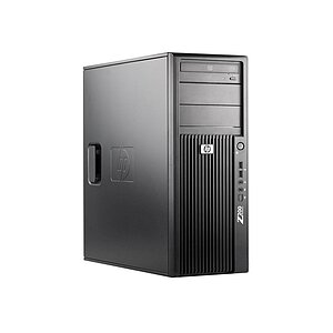 HP Z200 Workstation, Core i7 870 2,93GHz, 4GB RAM, 500GB HDD, DVD-RW, Quadro 2000