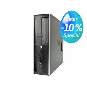HP Compaq Elite 8200 SFF, Core i5 2400 3,1GHz, 2GB RAM, 96GB SSD, DVD-ROM