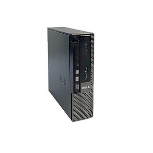 Dell Optiplex 9020 USFF, Core i5 4570S 2,9GHz, 4GB RAM, 256GB SSD, DVD-RW