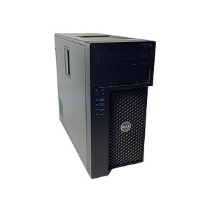 Dell Precision T3620, Core i7 6700 3,4GHz, 32GB RAM, 2TB HDD + 256GB HDD, DVD-RW, Quadro K2200