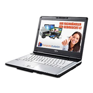 Fujitsu Lifebook S751, Core i5 2520M 2,5GHz, 4GB RAM, 160GB HDD, DVD-RW + Docking-Station