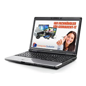 Fujitsu Lifebook E752, Core i5 3320M 2,6GHz, 4GB RAM, 320GB HDD, DVD-RW + Docking-Station