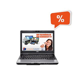 Fujitsu Lifebook S752, Core i5 3320M 2,6GHz, 8GB RAM, 128GB SSD, DVD-RW + Docking-Station