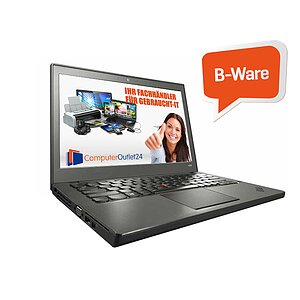 Lenovo Thinkpad X240, Core i5 4300U 1,9GHz, 8GB RAM, 180GB SSD, B-Ware