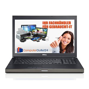 Dell Precision M6800, Core i7 4810MQ 2,8GHz, 8GB RAM, 500GB HDD, DVD-RW