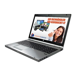 HP EliteBook 8570p, Core i7 3520M 2,9GHz, 4GB RAM, 500GB HDD, DVD-ROM