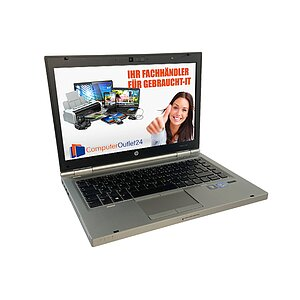 HP EliteBook 8470p, Core i5 3340M 2,7GHz, 4GB RAM, 180GB SSD, DVD-ROM