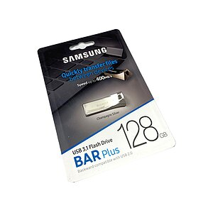 Samsung 128GB USB 3.1 Stick BAR Plus Titan Gray