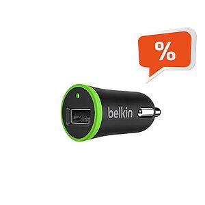 Belkin Car Charger 2.1 AMP, für iPhone 5s, 6, iPad Mini