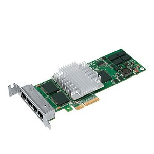 Intel PRO/1000, PT Quad Port Server Adapter (EXPI9404PTG2L20) Low Profile