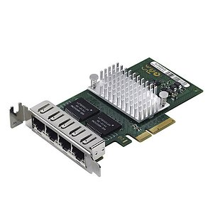 Fujitsu QuadPort Gigabit Server Adapter PCIe Low Profile D3045-A11