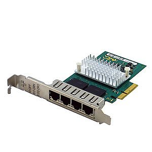Fujitsu D2745-A11 4Port QuadPort Server Adapter PCI-E (Full Profile)