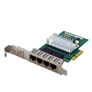 Fujitsu QuadPort Gigabit Server Adapter PCIe Full Profile D3045-A11