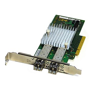 Fujitsu 2Port 10Gb Ethernet Controller PCI-E D2755-A11 incl. 2x Gbic (Full Profile)