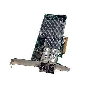 HP NC522SFP DualPort 10GbE PCIe SP: 468349-001 (Full Profile), incl. 2x Gbic
