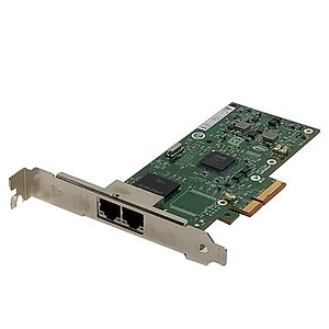 IBM/Intel Dual Port Server Adapter FRU: 49Y4232 (Full Profile)