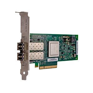 Cisco/QLogic QLE2562 8Gbps DualPort FC HBA incl. 2x Gbic 74-7179-01 (Full Profile)