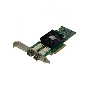 DELL/Emulex LPE15002B 8GB SFP+ Adapter inkl. 2x Gbic P/N: 091XY2 (Full Profile)