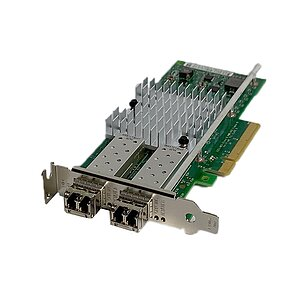 DELL/Intel NIC X520-DA2 10Gbe SFP+ NIC 2x Gbic (Low Profile) 0942V6